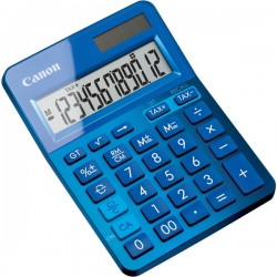 CANON Blue Desktop Tax Calculator.