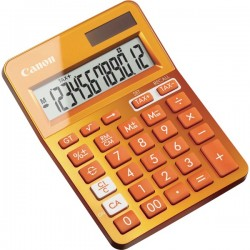 CANON Orange Desktop Tax Calculator.