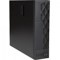 IN WIN CE052 mATX/MINI-ITX SFF SLIM BLACK 300W