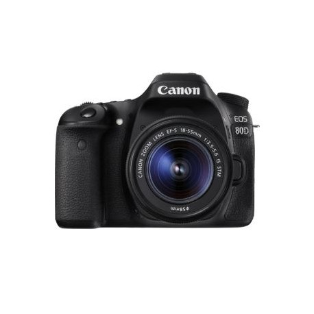 CANON 80DKIS EOS 80D SINGLE KIT WITH EFS18-55.
