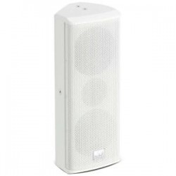 LD SYSTEMS 2X 4in/1in INSTALLATION SPEAKER WHITE