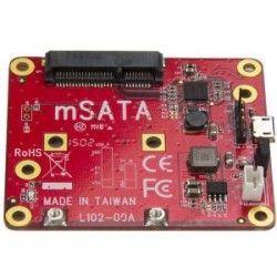 STARTECH USB to mSATA Converter for Raspberry Pi