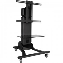 ATDEC TELEHOOK FLOOR MOTORISED TV CART -DOE