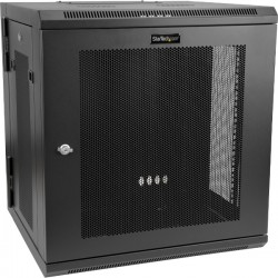 STARTECH 12U Wall Mount Rack Cabinet with Hinge