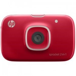HP SPROCKET 2-IN-1 PRINTER RED
