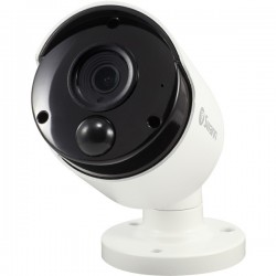 SWANN 4K WHITE BULLET CAMERA W AUDIO