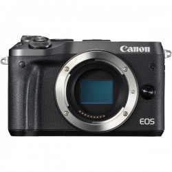 CANON M6BB EOS M6 BODY BLACK 24.2MP 3IN TOUCH